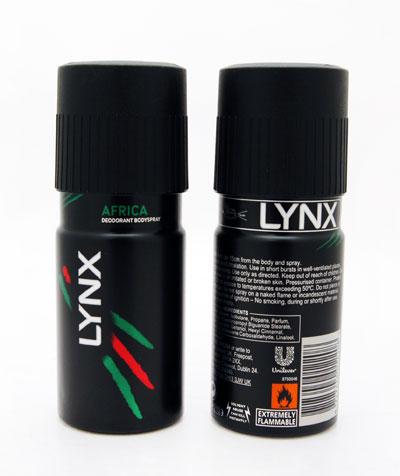 Lynx Deodorant 150ml (Various) x 6