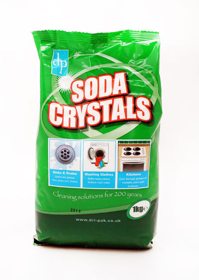 Soda Crystals 1kg X 12 Lacey Wholesale Ltd